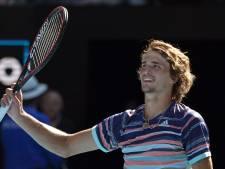 Primeur voor Zverev met halve finale in Melbourne