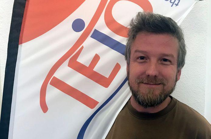 Stef Thienpont is de nieuwe coördinator van TEJO Gent.