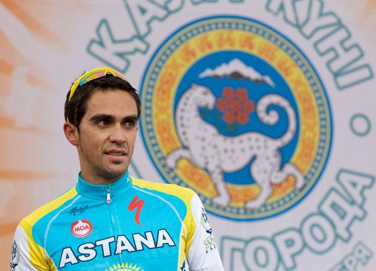 Alberto Contador (2010).