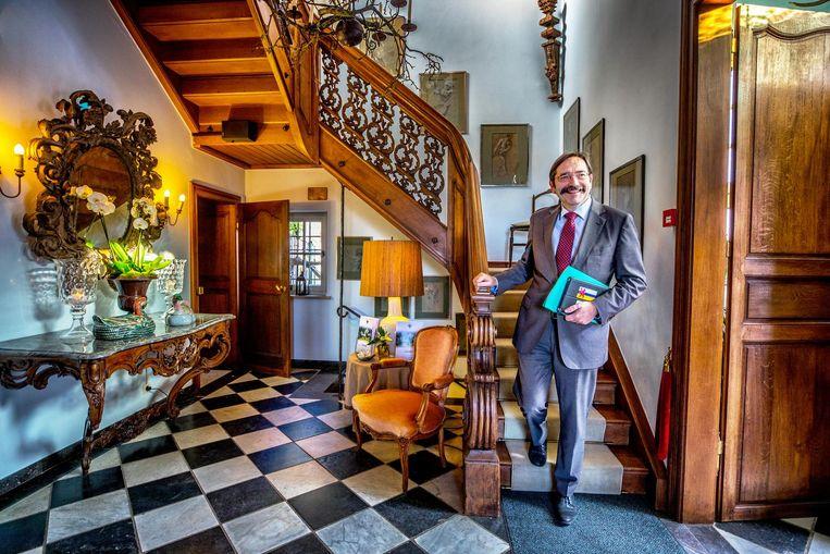 Commissaris van de koning Theo Bovens. Beeld Raymond Rutting / de Volkskrant