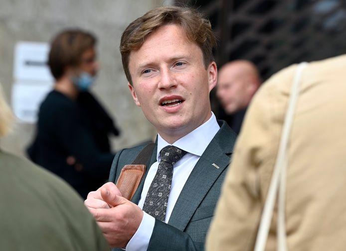 Louis De Groote, l'avocat du président du cercle étudiant Reuzegom