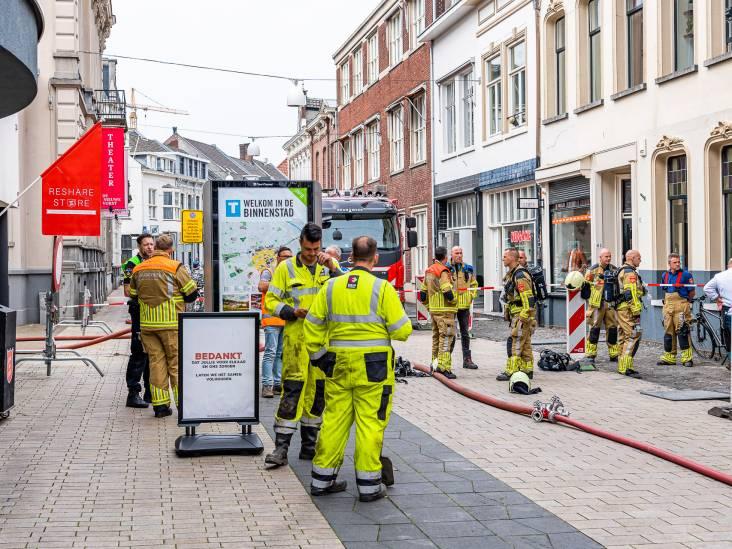 Sissend geluid in de Willem II Straat Tilburg: woningen en winkels ontruimd in door gaslek