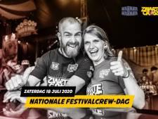 Crewshirt is als medaille of diploma: ode aan festivalmedewerkers op Nationale Crewdag