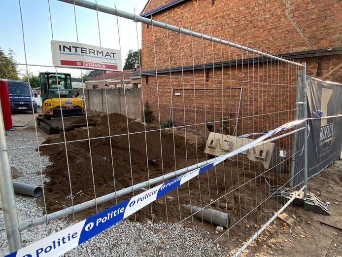 De politie sloot de werf af voor onderzoek.