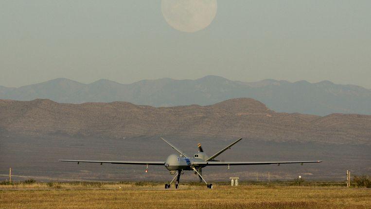 Een onbemand vliegtuigje, een drone, in de VS. Beeld ap