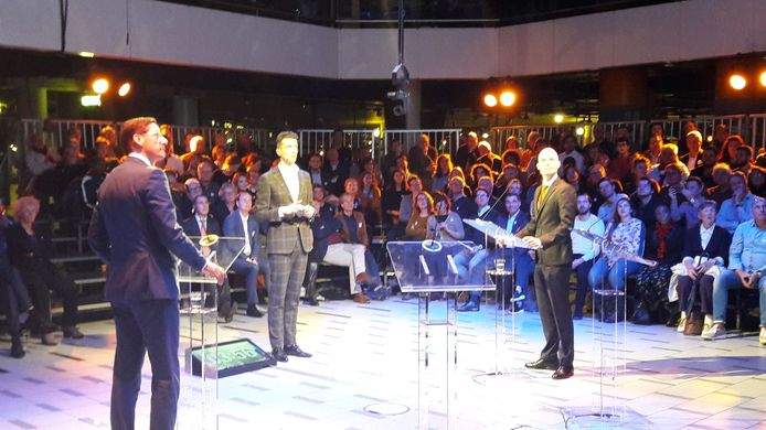 PVV en Leefbaar Rotterdam tegenover elkaar.