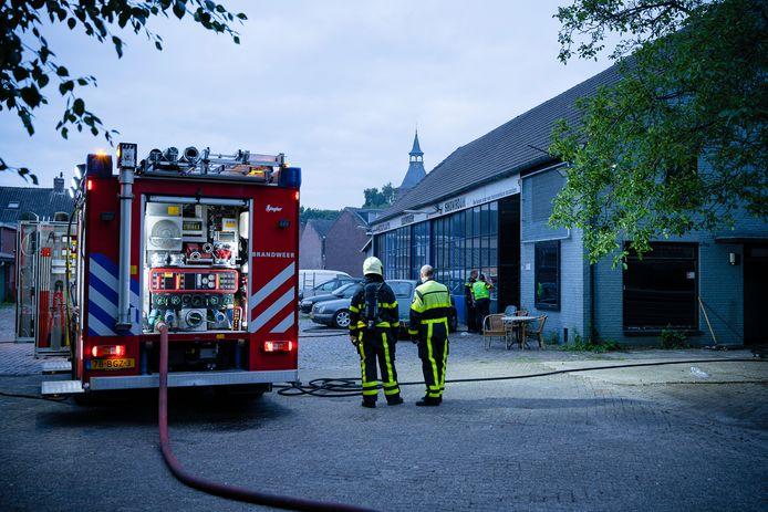 Brand Goirkestraat Tilburg.