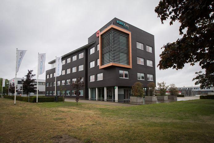 Het hoofdkantoor van Keolis in Deventer.