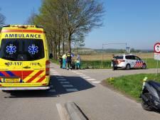 Wielrenner gewond na aanrijding bij Wageningen