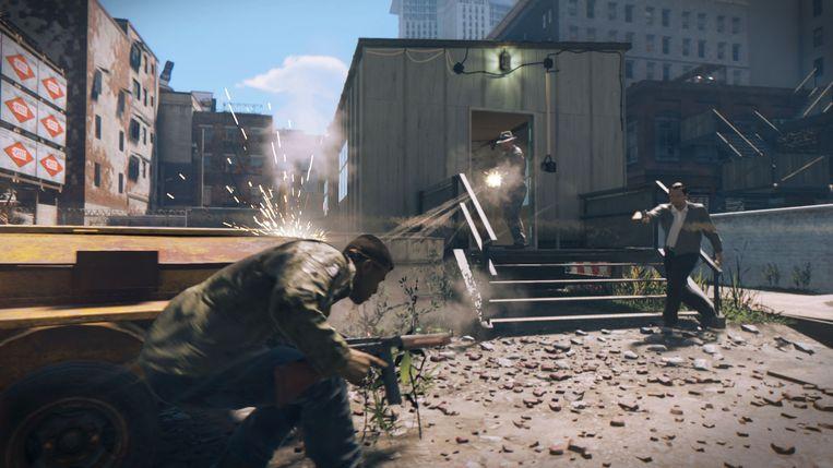 Een beeld uit 'Mafia III'. Beeld 2K Games