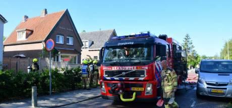 Tuinhuisje volledig uitgebrand in Kloetinge