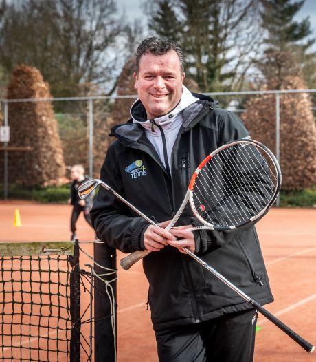 Tennisser Edwin Uffink is weer helemaal terug