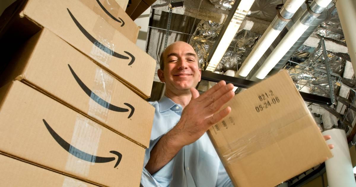 Begonnen in een garage, nu de op een na rijkste man ter wereld: Amazon-oprichter Jeff Bezos - AD.nl