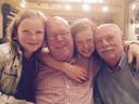 Frank met Jeanot en kleindochters