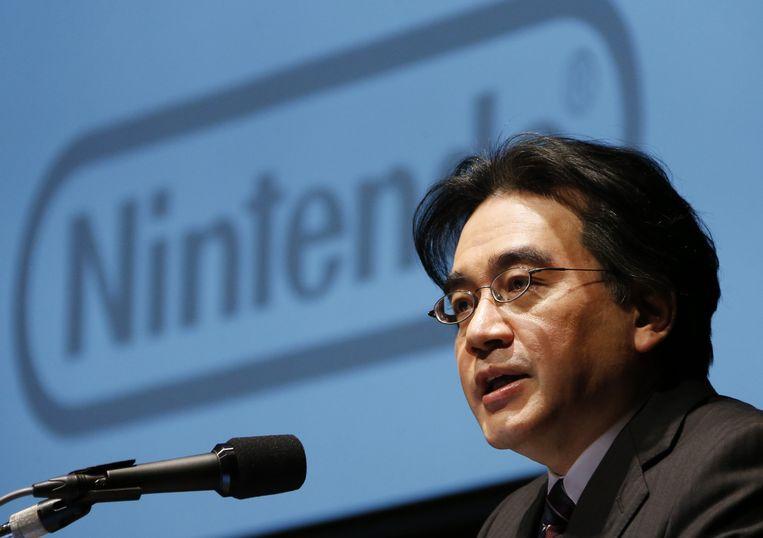 Satoru Iwata. Beeld AP