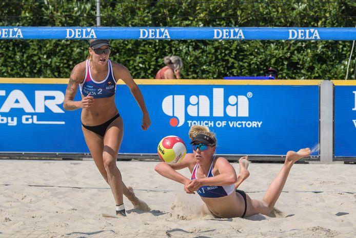Tweede editie van de Eredivisie beachvolleybal. Zaterdag 8 en zondag 9 augustus komt de gehele Nederlandse beachvolleybaltop naar het Sportpark. Emma Piersma en Puk Stubbe vs.