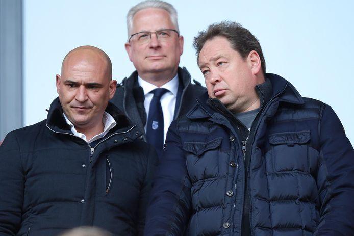 Mo Allach en Leonid Sloetski bij Vitesse.
