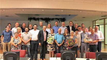 Drie nieuwe ere-gemeenteraadsleden in Sint-Pieters-Leeuw