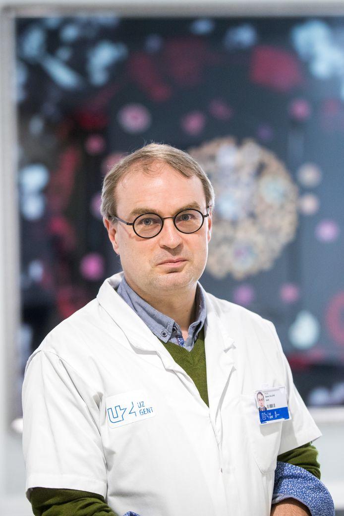 L'infectiologue Steven Callens