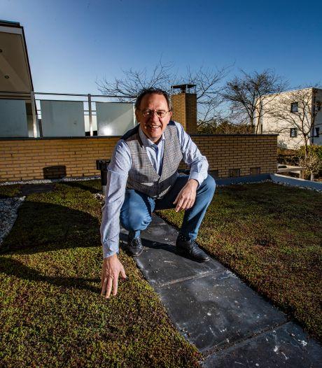 Zijn al onze daken straks groen? Als het aan D66'er Jan Schuring uit Deventer ligt wel: 'Niet verplichten, wel stimuleren'
