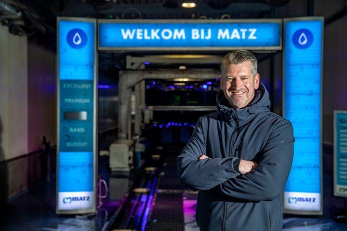 Eigenaar Martin Kniest van Matz Carwash met vestigingen in Deventer en Zutphen.