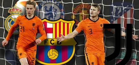 Zijn Frenkie de Jong en Matthijs de Ligt straks nog international? Elf vragen over de Super League
