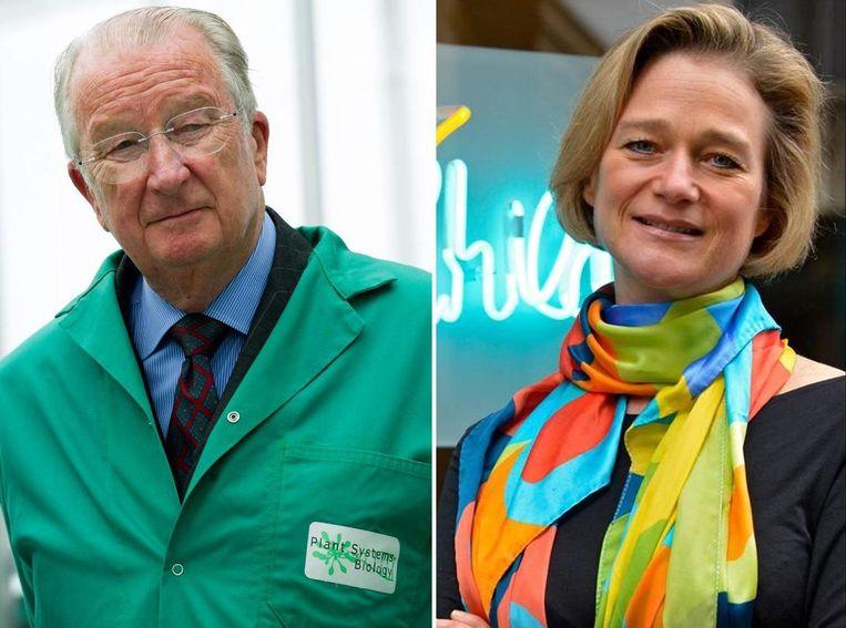 Delphine Boël verkreeg deze week dat koning Albert een DNA-test moet ondergaan om uit te maken dat hij haar biologische vader is. Beeld Photo News