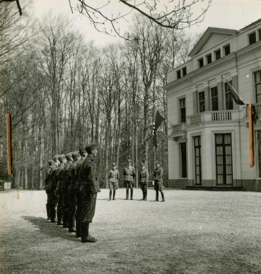 SS-opleiding op Landgoed Avegoor in Ellecom