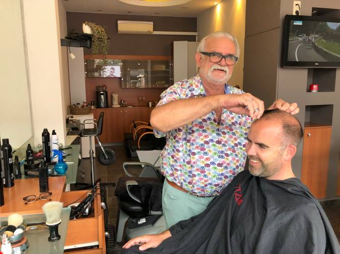 """Snelste kapper van Aarschot, die ooit Freddy Horion andere look gaf, stopt na vijftig jaar: """"Ik knip nog steeds je haar in 2 minuten en 50 seconden"""""""
