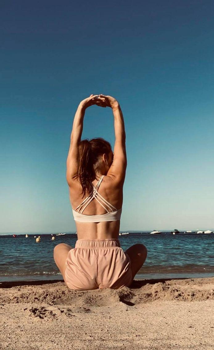 Lieze De Groeve is gepassioneerd door Yoga.