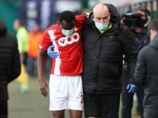 Coup dur pour le Standard: saison terminée et opération pour Bokadi
