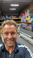 Kurt Debouck was op de terugweg van zakenreis tijdens het interview, hij stuurde ons zelf deze foto door.