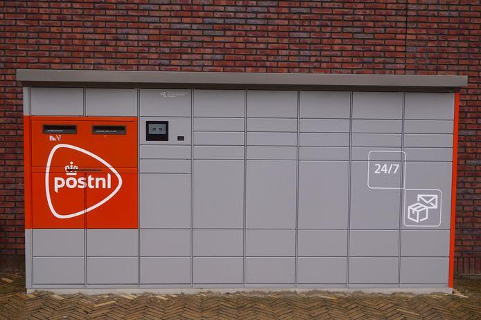 Een pakketautomaat van PostNL.