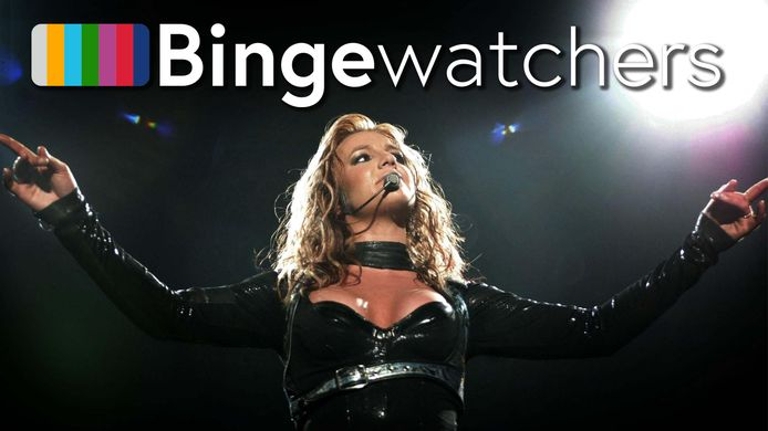 Britney Spears tijdens een optreden in Ahoy.