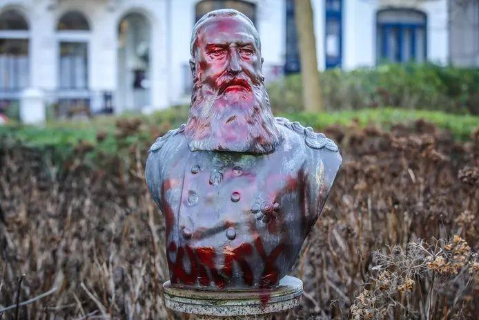 La statue ostendaise a déjà été l'objet de plusieurs scènes de vandalisme.
