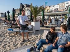 Pier 7 is een belevenis: eten met je voeten in het zand