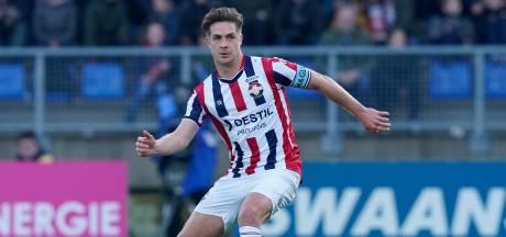 Aanvoerder Peters verlengt zijn contract bij Willem II met een jaar