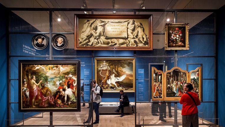 Werken uit het depot van het Mauritshuis. Beeld anp