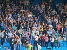 De Graafschap herhaalt: supporters moeten zitten, óók op de staantribune