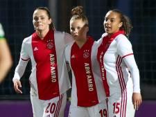 Voetbalsters Ajax herstellen zich met zege op ADO Den Haag
