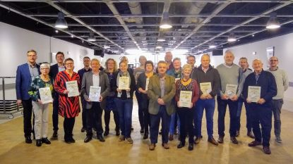Kasterlee beloont elf cultuurverenigingen met subsidie en oorkonde