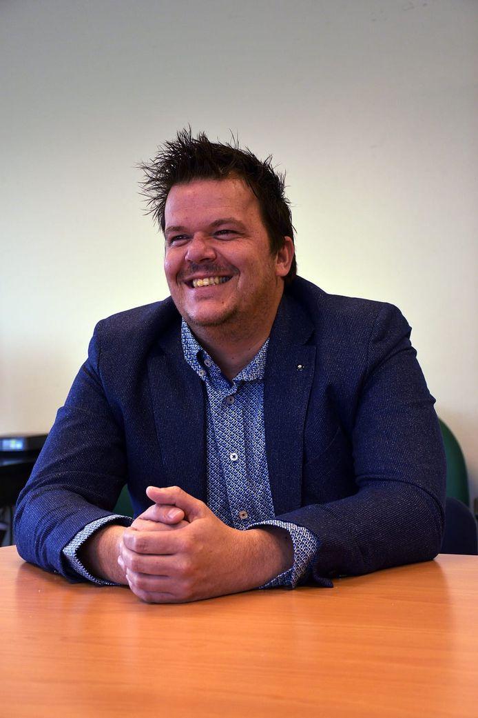 Danny Oudsen, voorzitter van voetbalclub ESA in Arnhem.