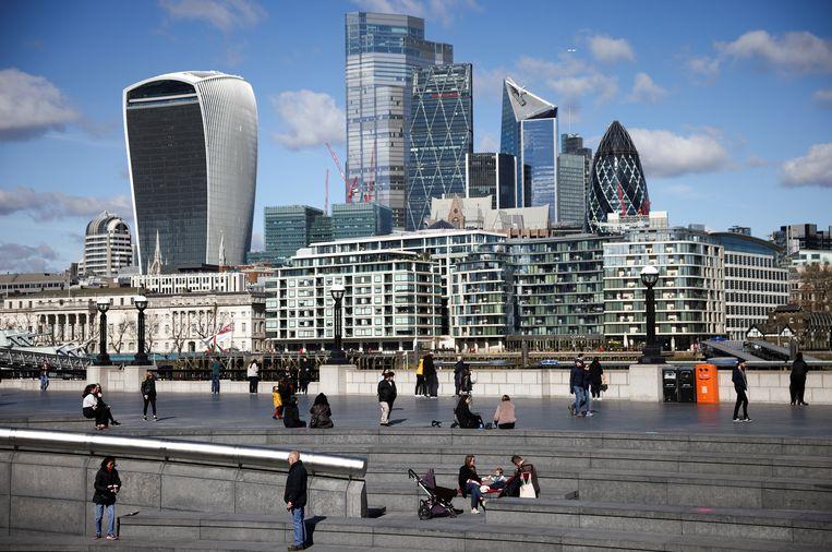 De City, de financiële wijk van London. Beeld REUTERS
