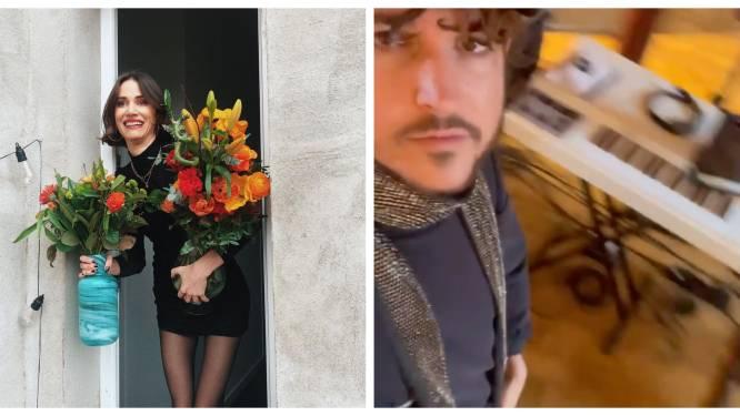 SHOWBITS. Jarige Lize Feryn zet de bloemetjes buiten en Oscar and the Wolf zit opnieuw in de studio