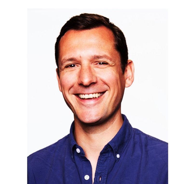 David Noël wil inspirerende verhalen vertellen in zijn podcast. Beeld Twitter/David Noël