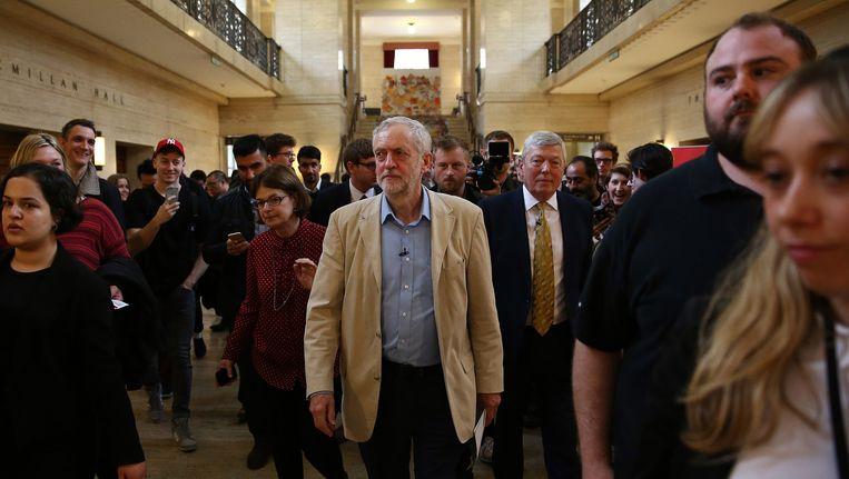 Labour-leider Jeremy Corbyn Beeld getty