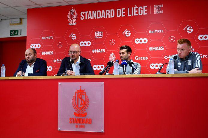 Première mission samedi à OHL pour le nouveau staff liégeois.