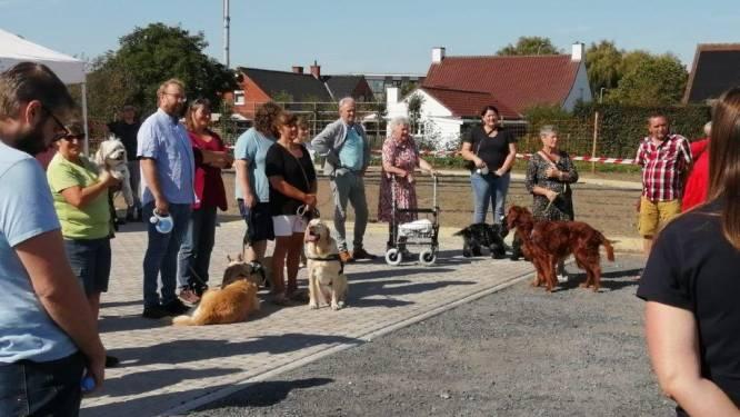 Nieuwe hondenweide geopend in Meulebeke
