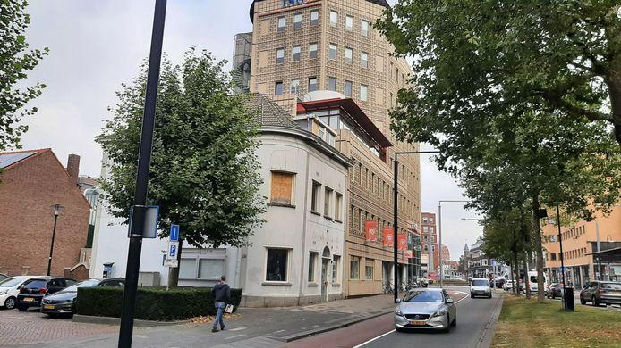 Het verwaarloosde pand Wittstaete aan de Johan de Wittstraat in Dordrecht.