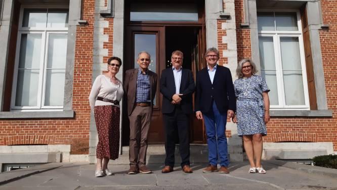 Eredeken Xavier Berteele en Laureaat van de Arbeid Frank Koenen gehuldigd in gemeentehuis